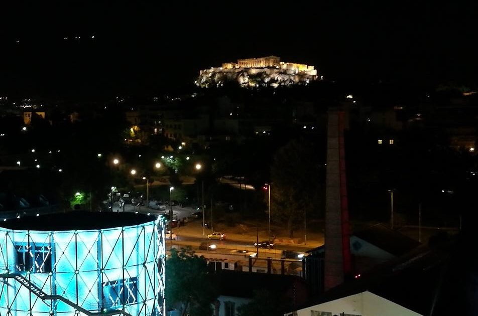 Magnificent Acropolis View dinner in the sky greece