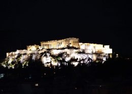 Acropolis full view dinner in the sky greece